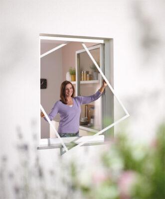 Insektenschutz Spannrahmen für Fenster