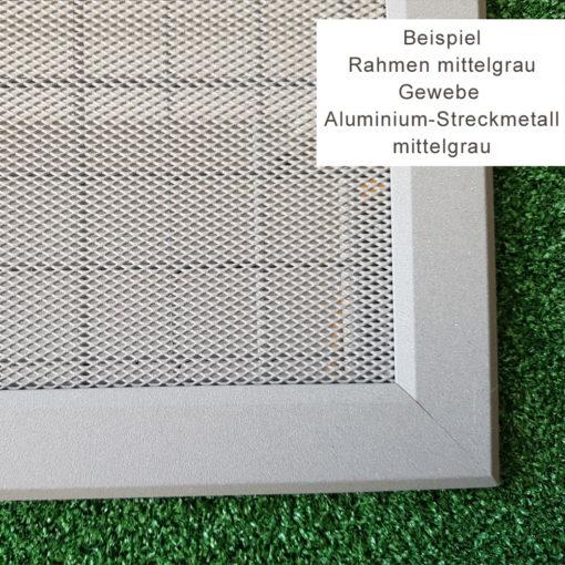 Beispiel Gewebe Aluminium Streckmetall