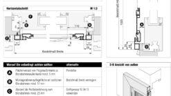 Drehrahmen Rollladenpanzer DT 3/9 Aufmaßanleitung Überblick