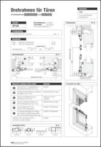 Drehrahmen Rollladenpanzer DT 3/9 Aufmaßanleitung anzeigen