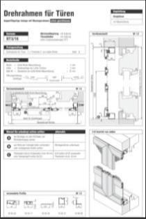 Drehrahmen Stulptüre DT 3/16 Aufmaßanleitung anzeigen