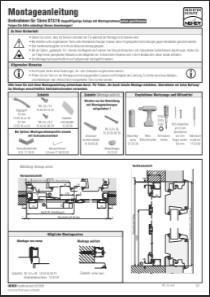 Drehrahmen Stulptüre DT 3/16 Montageanleitung anzeigen