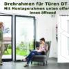 Fliegengittertüre Drehrahmen für Türen mit herunterhängendem Rollladenpanzer - DT 4/19 von MHZ Neher Technology