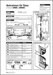 Drehtür Rollladenpanzer DT 4/19 Aufmaßanleitung anzeigen
