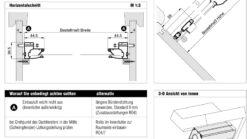 Insektenschutz-Rollo 4/3 IGH Aufmassanleitung Überblick