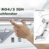 Insektenschutz-Rollo 4/3 IGH Dachfenster