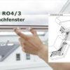 Insektenschutz Rollo 4/3 Dachfenster