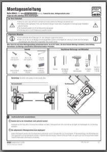 Insektenschutz-Rollo RO 4/3 IGG Montageanleitung anzeigen