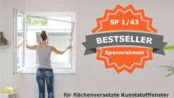 Insektenschutz Spannrahmen Kunststofffenster 1/43