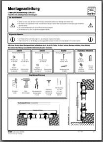 Lichtschachtabdeckung Montageanleitung Lisa 1/1