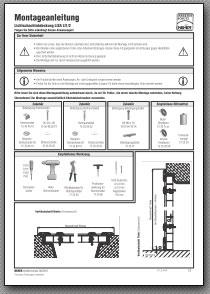 Lichtschachtabdeckung Montageanleitung Lisa 1.2