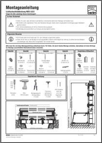 Lichtschachtabdeckung RESi LI 2-2 Montageanleitung anzeigen