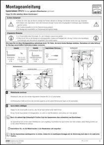 Montageanleitung SP 4/12 anzeigen