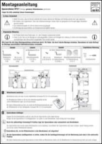 SP 1/3 Montageanleitung anzeigen