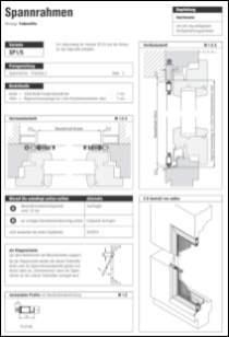 Spannrahmen 1/5 Holzfenster Aufmaßanleitung anzeigen