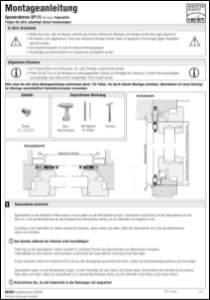 Spannrahmen 1/5 Holzfenster Montageanleitung anzeigen