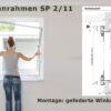 Spannrahmen SP 2/11 gefederte Winkellaschen