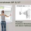 Spannrahmen SP 2/17 drehbare Winkellaschen