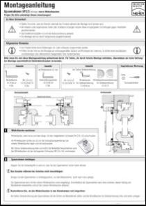 Spannrahmen 2/3 Montageanleitung anzeigen